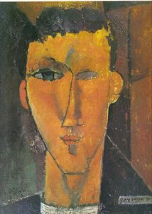Raymond_Radiguet_by_Modigliani__1915__private_collection