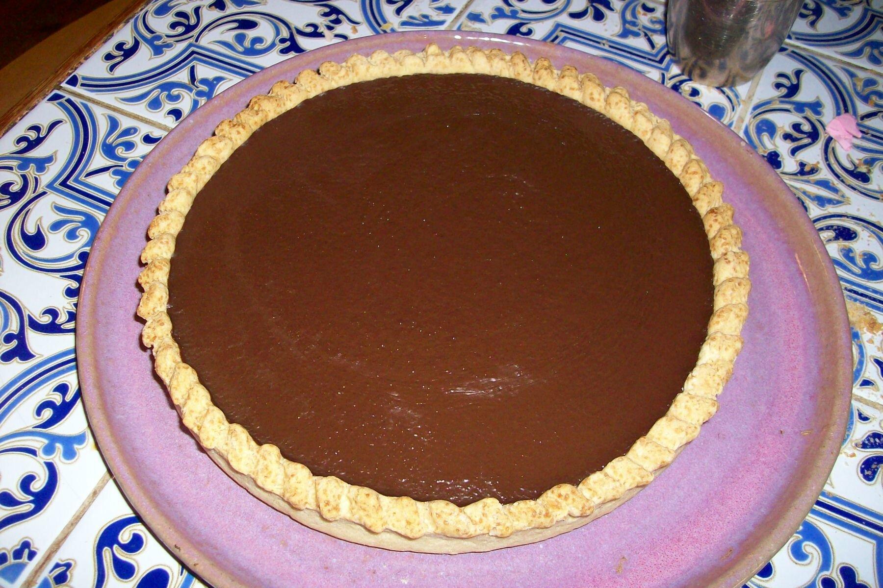 Tarte Au Chocolat Sans Oeuf