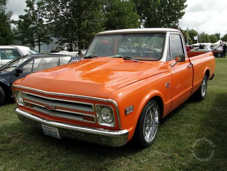 Chevrolet c10 pickup 1968 Retro Meus Auto Madine 2011 1