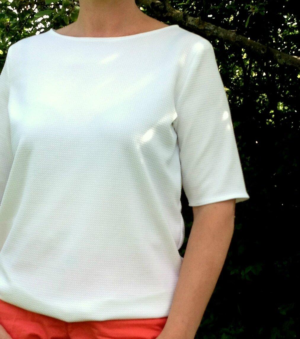 Top Tilda, la maison Victor jersey blanc