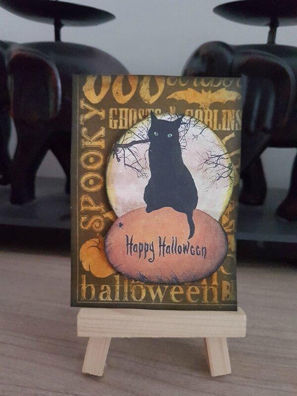 Pour Gisou ATC thème Halloween Liberty Scrap Sept-Oct 17 N°2