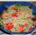 SALADE AUX CREVETTES FACON VIETNAMIENNE 