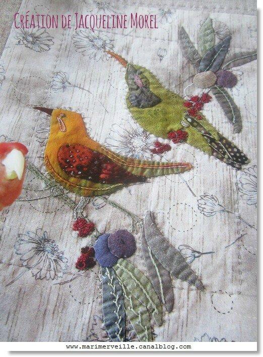 les oiseaux jacqueline Morel