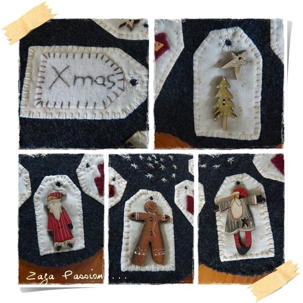 Candle mat Noel 2