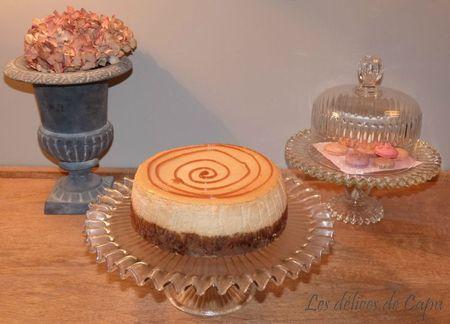 Cheesecake à la confiture de lait4