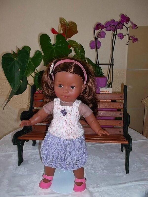 Rose & la tenue de Céline