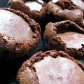 Fondant au chocolat pour cuisinière pressée.