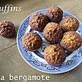 Muffins aux bonbons à la bergamote