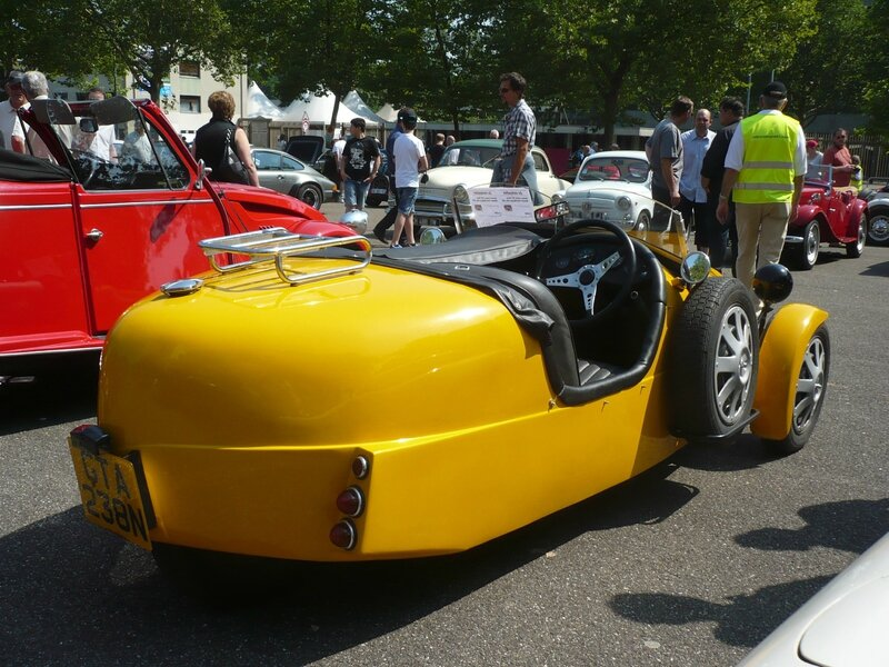 LOMAX 223 Three Wheeler roadster Strasbourg (2)