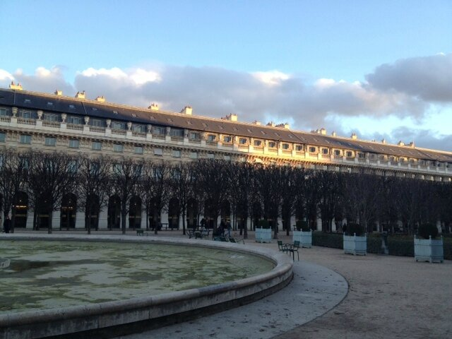 10 jardins du Palais Royal Paris