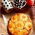 Recette de ma grand mére : notre gâteau «renversé a l'ananas « est prêt pour le goûter