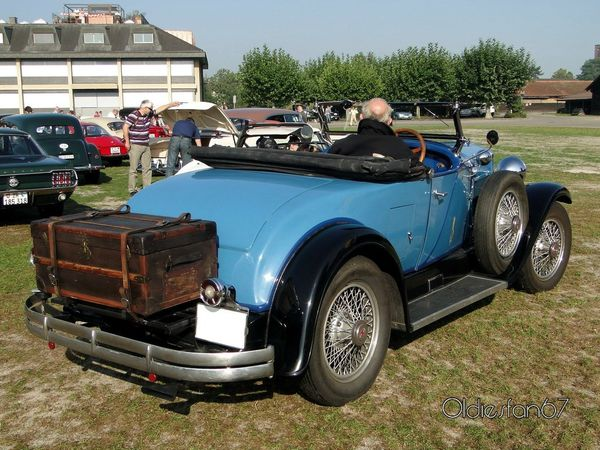 hupmobile century six roadster 1929 b