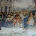 Comment Benoît fait porter le corps du Christ sur le corps du moine que la terre ne voulait pas recevoir
