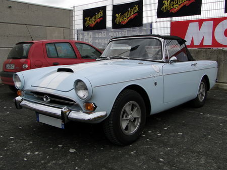 SUNBEAM Tiger V8 Roadster 1964 1968 Salon Champenois du Vehicule de Collection de Reims 2010 1