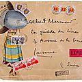 L'artiste du vendredi : art postal des artistes