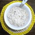 Crème de champignons de paris à la moutarde.