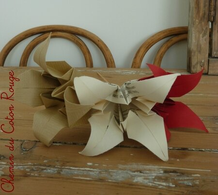 fleurs de lotus papier2
