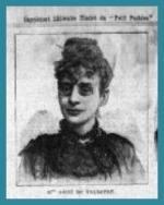 Marie-Rose ASTIE de VALSAYRE - Le Petit Parisien - 1893
