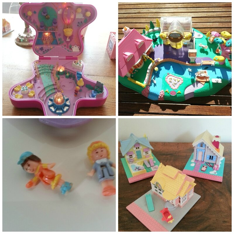 Polly pocket Collage