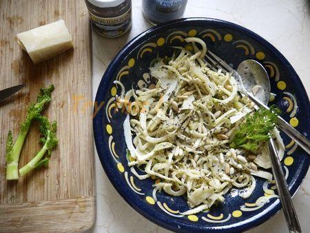 Salade de Fenouil à l'anchois
