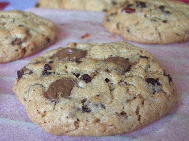 Cookies maison moelleux cookies comme au subway grany - Recette cookies chocolat moelleux ...