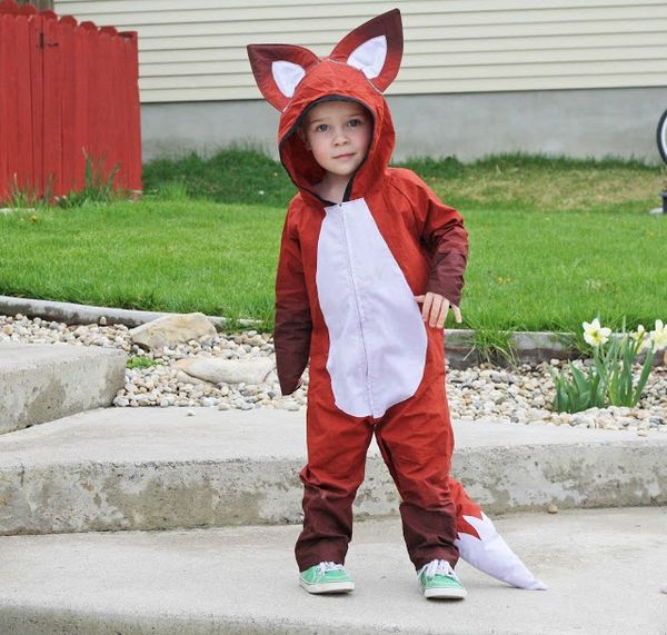 tricky fox halloween costume