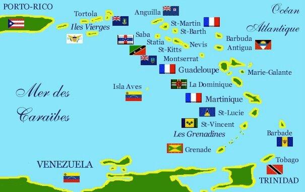 CPM Mer Caraïbes