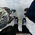 La patinoire et mes filles