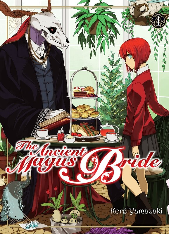 The Ancient Magus Bride de Koré Yamazaki Komikku shônen couverture tome 01