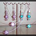 perles strassées de cristaux
