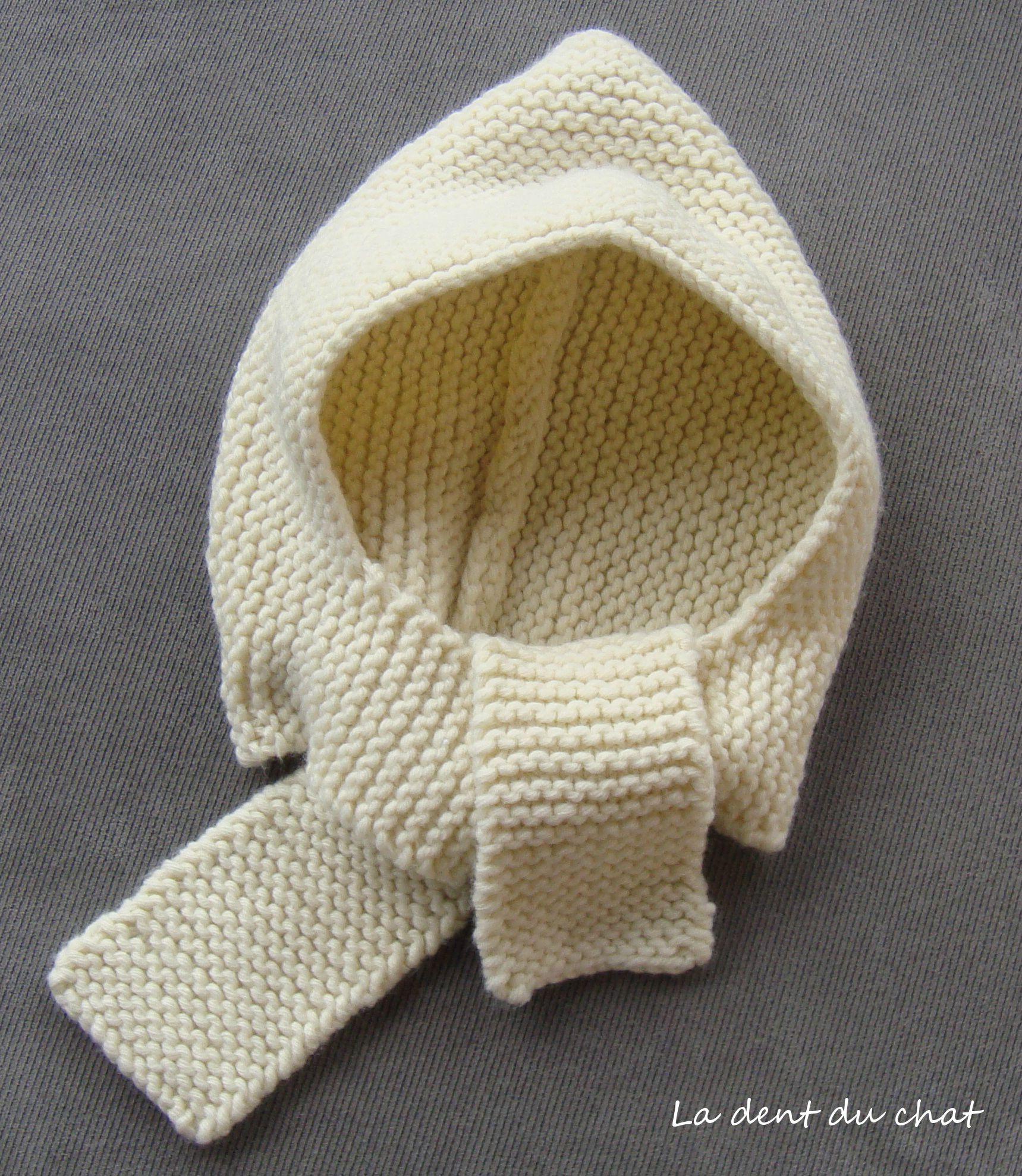 tricoter un bonnet echarpe. Black Bedroom Furniture Sets. Home Design Ideas