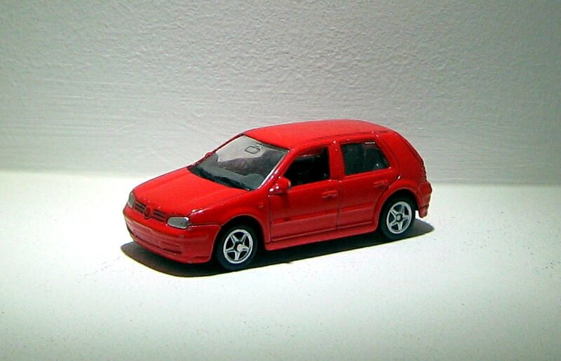 Vw Golf IV GTI (Welly)