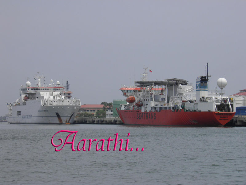 Cochin Port ,Willingdon Island.