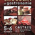 Salon du chocolat et gastronomie à castres le 5/6 novembre 2011