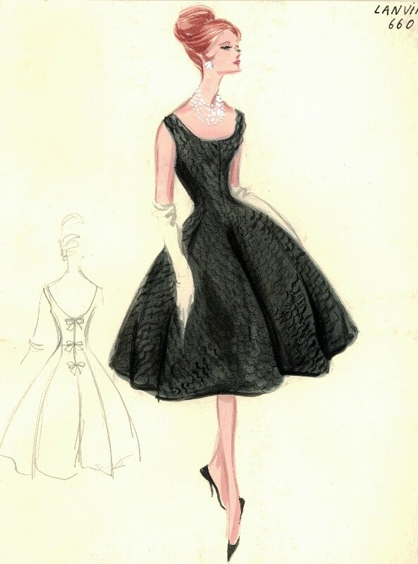 Bergdorf Goodman Archives. Coctail & Evening Dresses: Lanvin