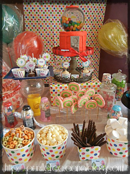 Beliebt l'anniversaire de Prunille } CANDYLAND birthday party {sweet table  JO08