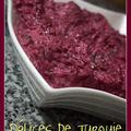 Salade de betterave au yaourt - pancar salatası