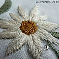 Côté broderie traditionnelle