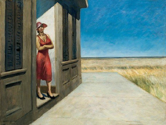 Edward Hopper South Carolina morning 1956