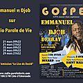 Emmanuel pi djob sur radio parole de vie
