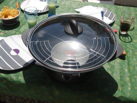 des id es pour mon wok electrique cuisinades. Black Bedroom Furniture Sets. Home Design Ideas