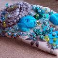 barrette tuquoise