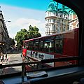 Londres , bus à étage