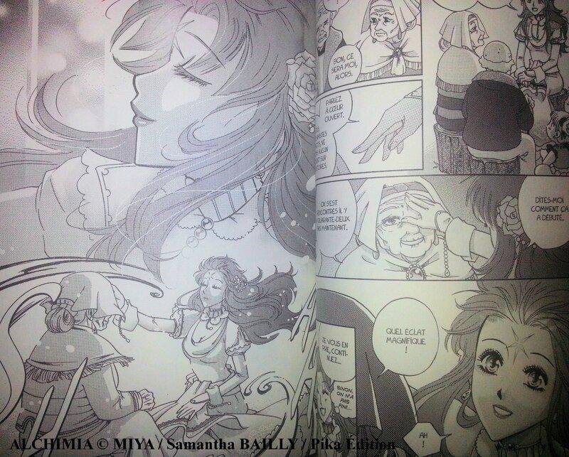 Alchimia Samantha Bailly Miya tome 01 Pika édition shôjo scan02
