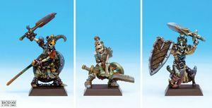 Guerriers Squelettes 01
