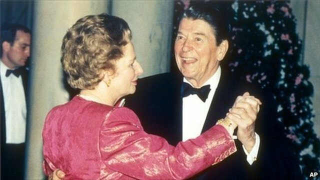 Thatcher and Reagan