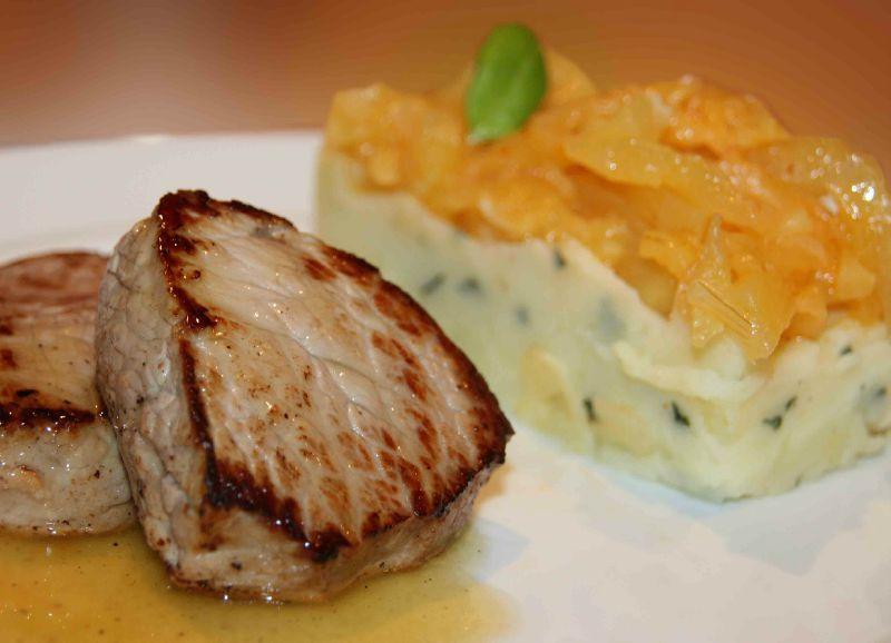 Jarret de veau aux mogettes et la liv che la cuisine - Cuisiner un jarret de veau ...