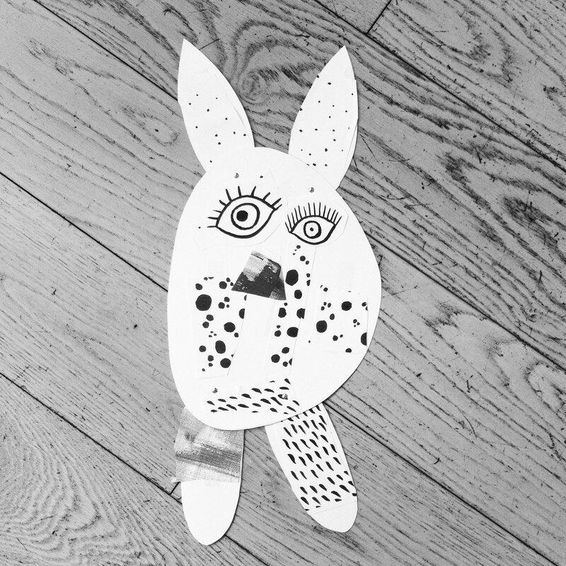 Le monstre de Lilie (papa lapin)