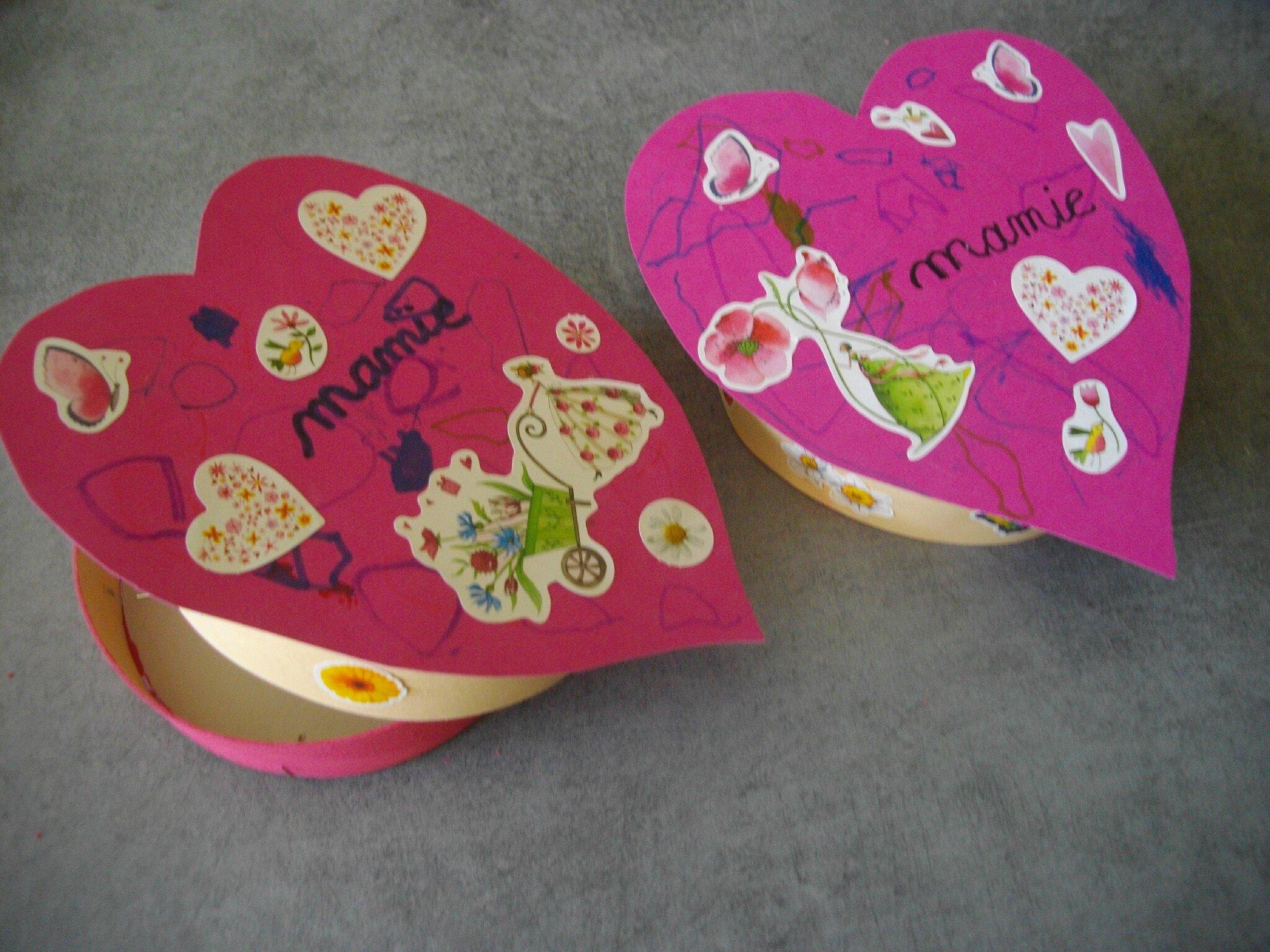Nos cadeaux pour la f te des grands m res mon p 39 tit - Creation fete des meres ...