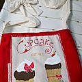 Une commande de sac cupcake ^^